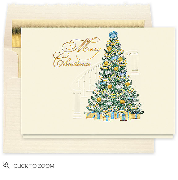 Merry Christmas Traditions Holiday Card - Business Christmas Cards