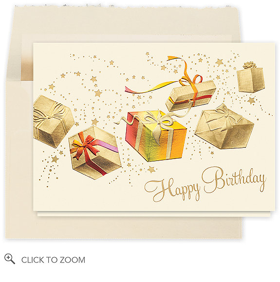 Gifts Galore Birthday Card - Business Birthday Cards