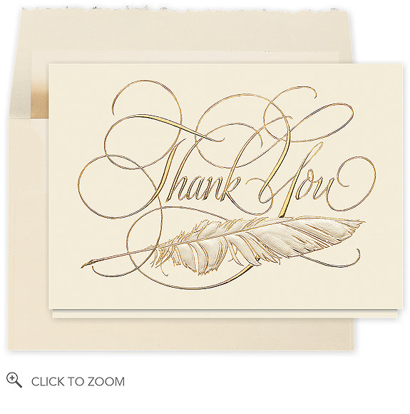 Signature Thank You Card