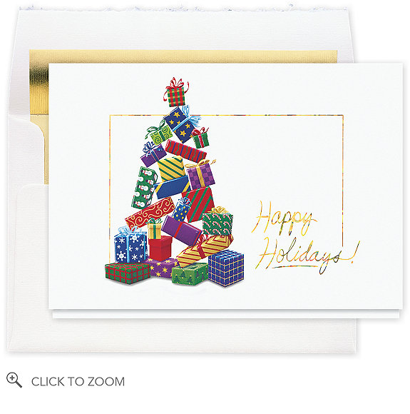 Tree of Plenty Christmas Card - Business Christmas Cards