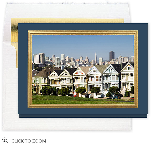 San Francisco, The Seven Beauties Holiday Card - Business Christmas Cards
