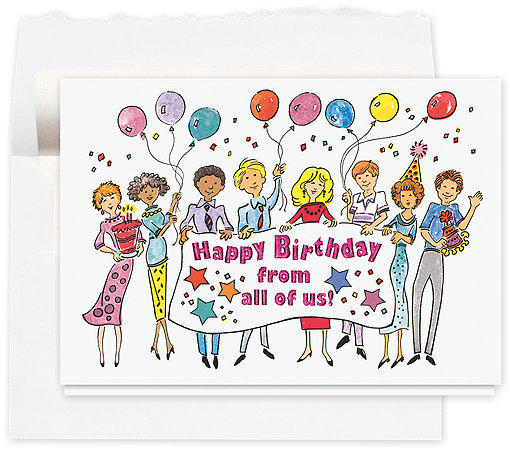 Banner Birthday Wishes Card, 016AE