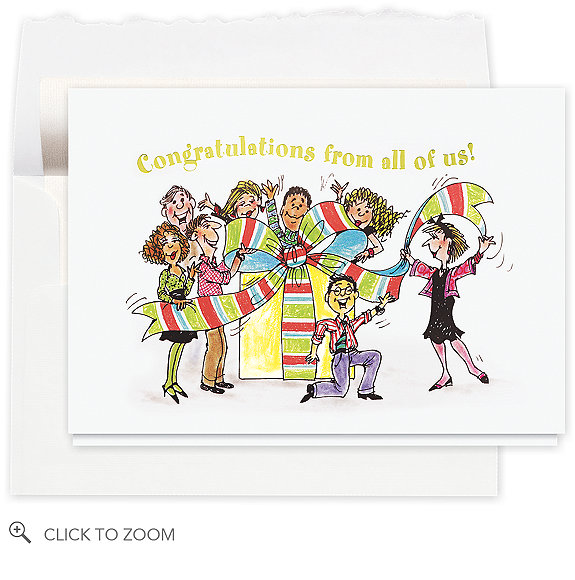 Festive Congratulations Card - Congratulations Cards