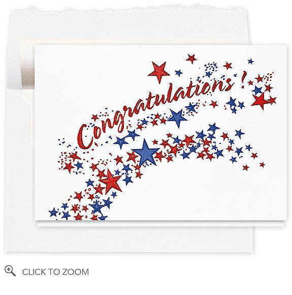 Congratulations Starburst Card - Congratulations Cards