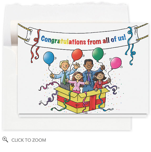 Congratulations Banner Greeting Card - Congratulations Cards