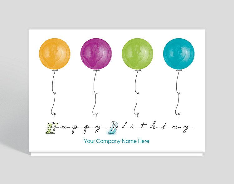 Modern Birthday Card Design