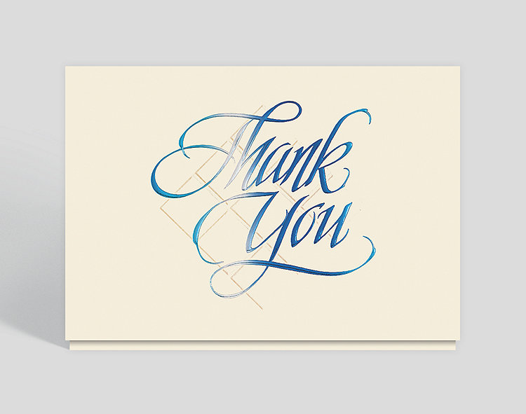 Corporate Thank You Card, 300509 - Business Christmas Cards