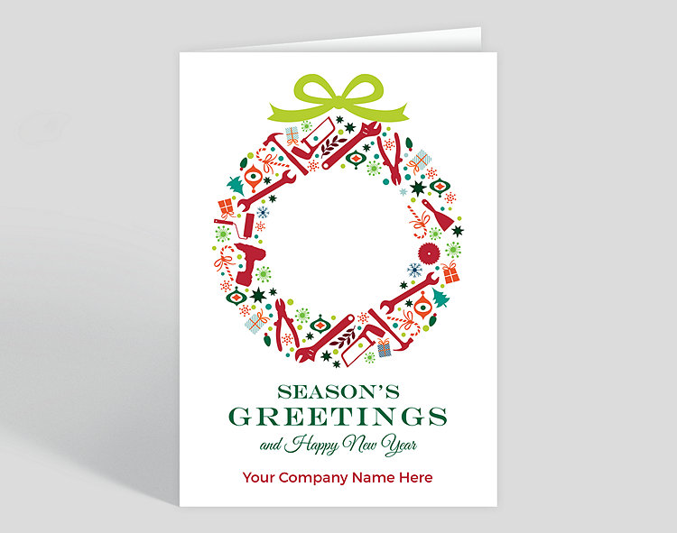 New Home Christmas Greeting Card Messages
