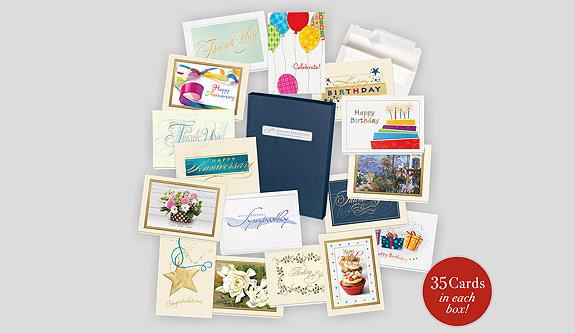 Anniversary Card Assortment Box