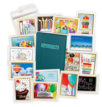 Assortment Boxes Assorted Greeting Cards Business Birthday – Birthday Cards in a Box