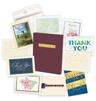 Assortment boxes assorted greeting cards business birthday thank thank you card assortment box m4hsunfo