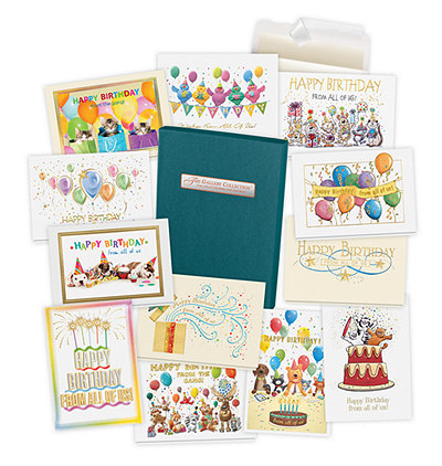 2019 From All of Us Birthday Card Assortment Box