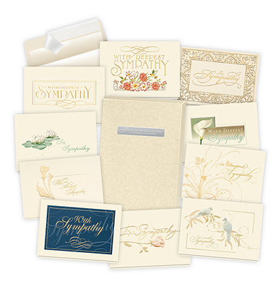 2019 Formal Sympathy Card Assortment Box