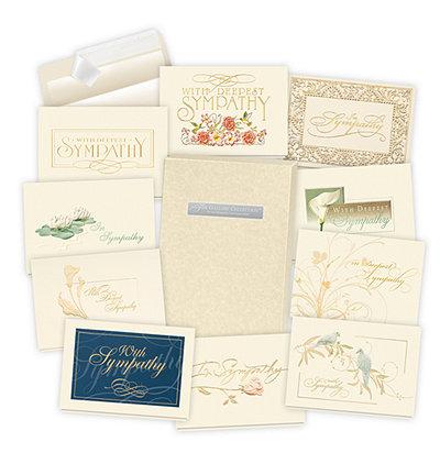 2019 Formal Sympathy Card Assortment Box