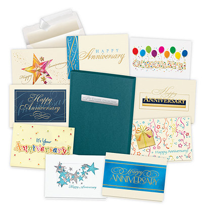 2019 Employee Anniversary Card Assortment Box