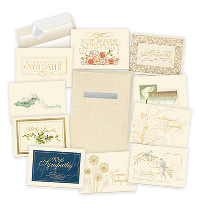 Formal Sympathy Card Assortment Box