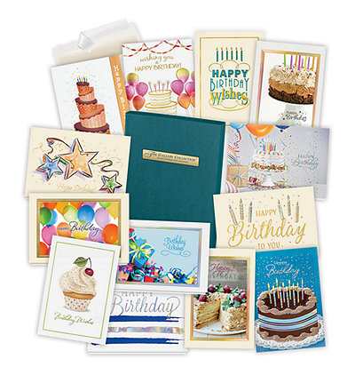 Formal Birthday Card Assortment Box