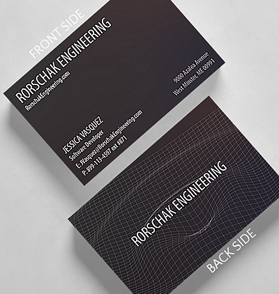 Laser lightshow business card credit card size 1027631 business waveform business card credit card size reheart Images