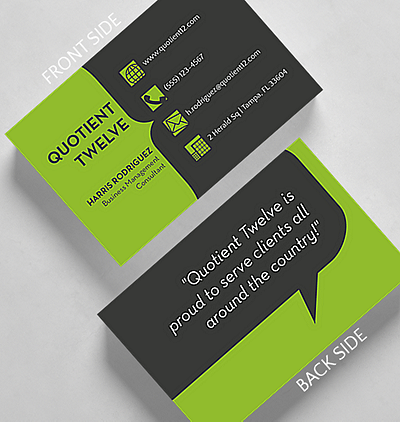 Quotable business card standard size 1027605 business christmas cards quotable business card credit card size colourmoves