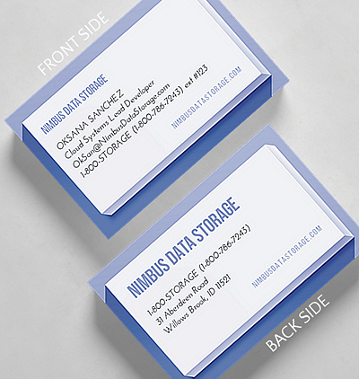 Fade out business card standard size 1027567 business christmas cards inception business card credit card size reheart Image collections