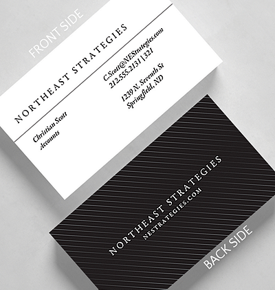 Pipeline business card standard size 1027823 business christmas cards pinstriped business card standard size reheart Gallery