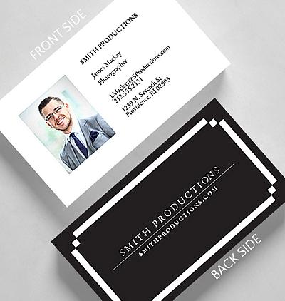 8 Bit Border Business Card Credit Card Size 1027656 Business