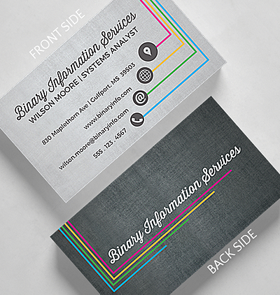 Vertical shades business card standard size 1027499 business wesley business card standard size reheart Image collections