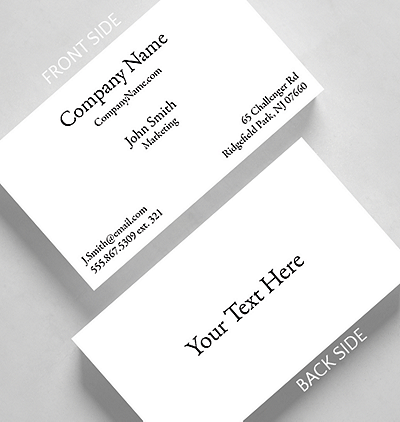 Business basics photo and logo h2 business card standard size business basics text h1 business card standard size reheart Images