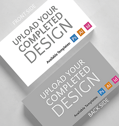 Browse all business cards the gallery collection upload your completed design horizontal business card standard size colourmoves