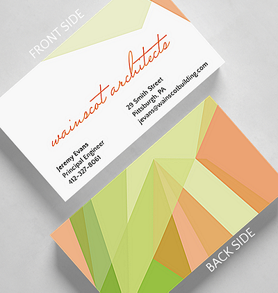 Browse all business cards the gallery collection sorbet business card standard size colourmoves