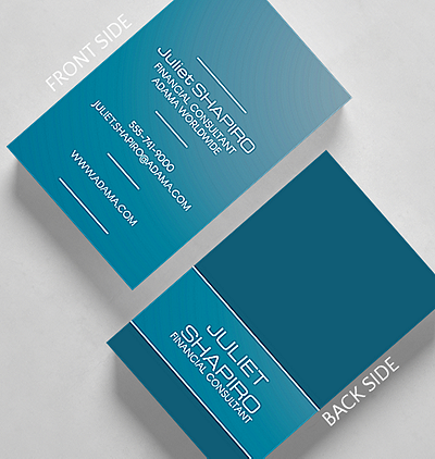 Gradients business card standard size 1027582 business christmas dabbed business card credit card size reheart Image collections