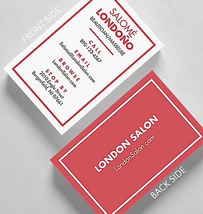 Simply bold business card standard size 1027602 business simply bold business card credit card size reheart Choice Image