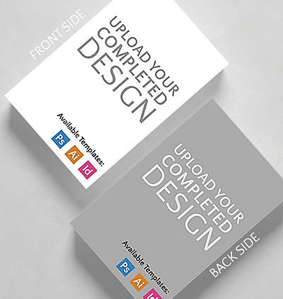 Upload your completed design vertical business card standard size upload your completed design vertical business card credit card size reheart Gallery
