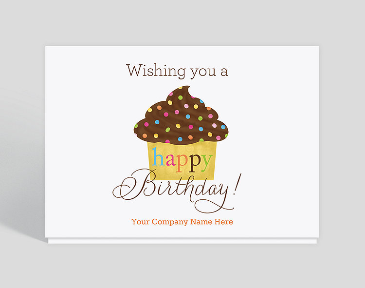 Sweet Birthday Card 1023503 Business Christmas Cards
