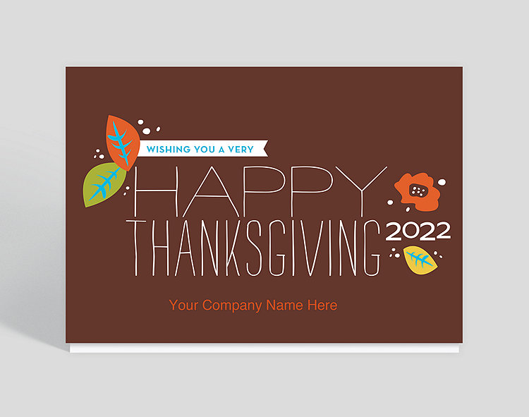 thanksgiving greetings card 1023611 business christmas cards