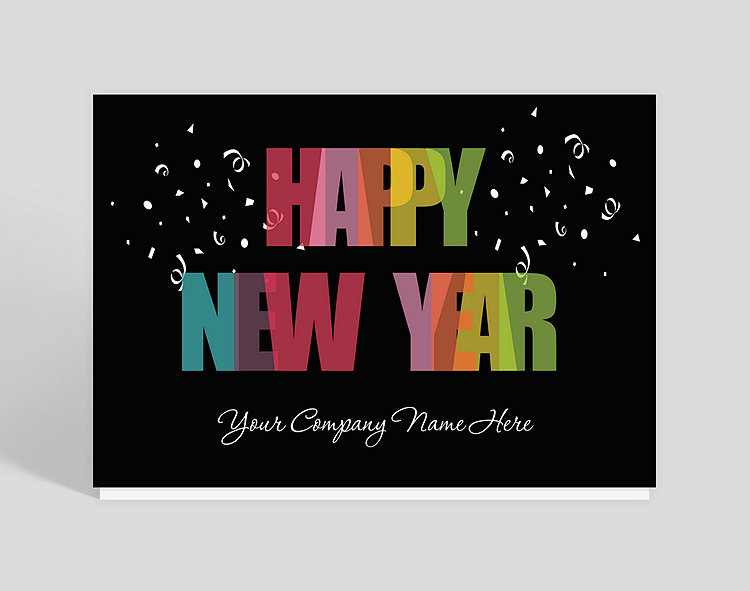 Bright new year card 1023738 business christmas cards bright new year card click to view larger colourmoves
