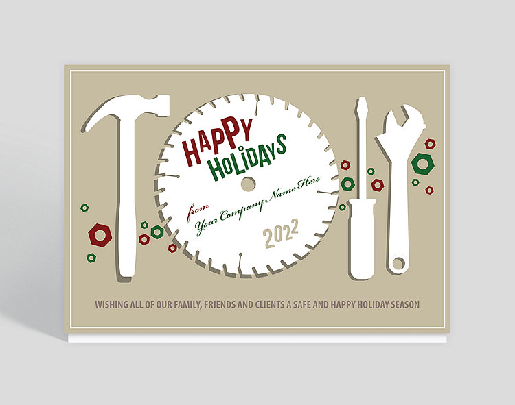 Circular greetings holiday card 1023793 business christmas cards circular greetings holiday card click to view larger m4hsunfo