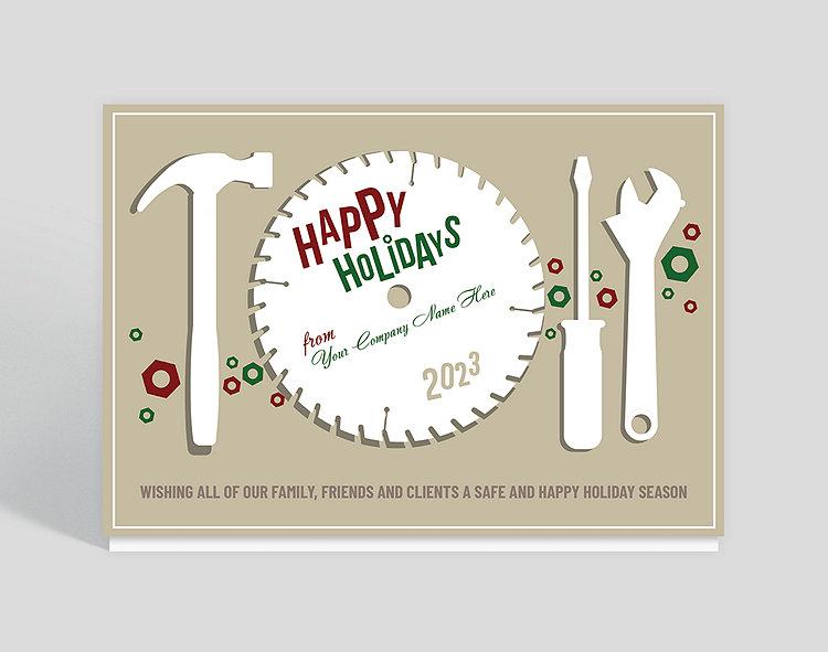 Circular greetings holiday card 1023793 business christmas cards circular greetings holiday card click to view larger colourmoves