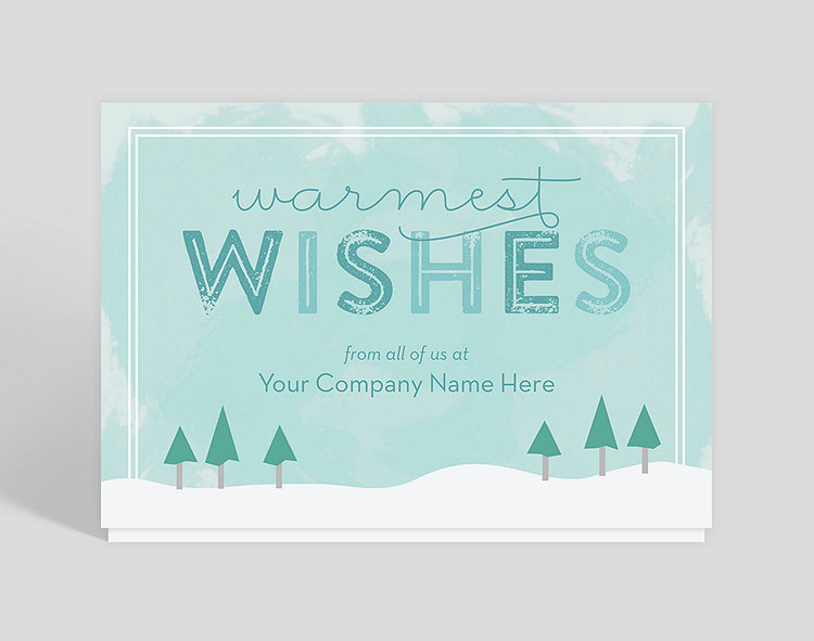 Wintergreen Christmas Card - Greeting Cards