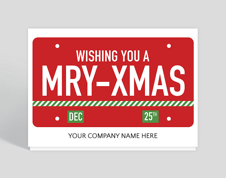 License To Celebrate Christmas Card 1025524 Business Christmas Cards