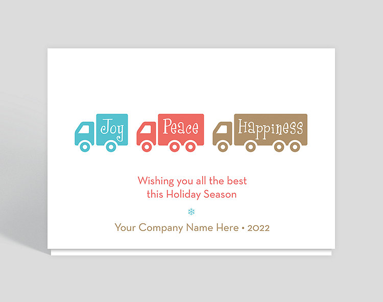 Holiday transport christmas card 1025530 business christmas cards holiday transport christmas card click to view larger reheart Image collections