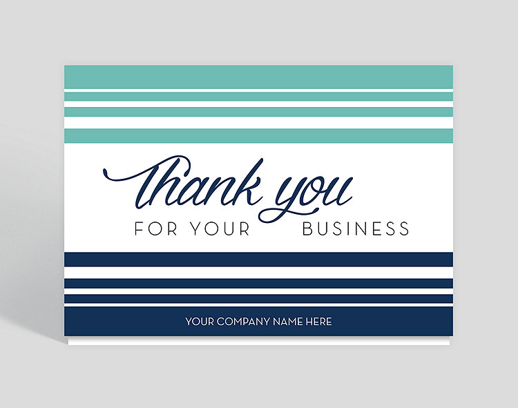 contemporary thanks thank you card 1027762 business christmas cards