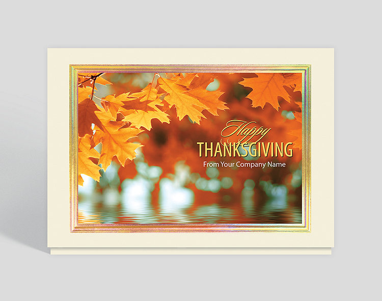 Thankful greetings thanksgiving card 1028003 business christmas cards thankful greetings thanksgiving card click to view larger colourmoves