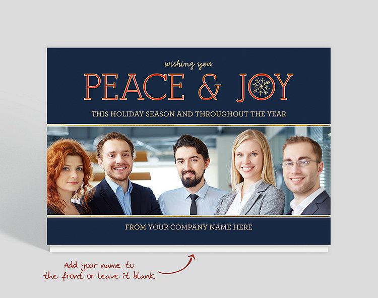 Wishing Joy Holiday Card