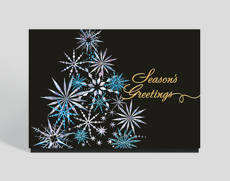 Holiday Starburst Card - Christmas Cards