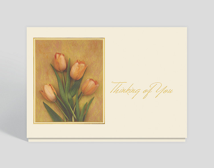 Floral expressions thinking of you card 300142 business christmas click to view larger m4hsunfo