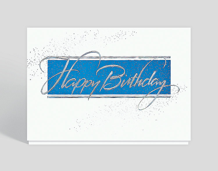 Happy Birthday Sparkle Greeting Card, 300226
