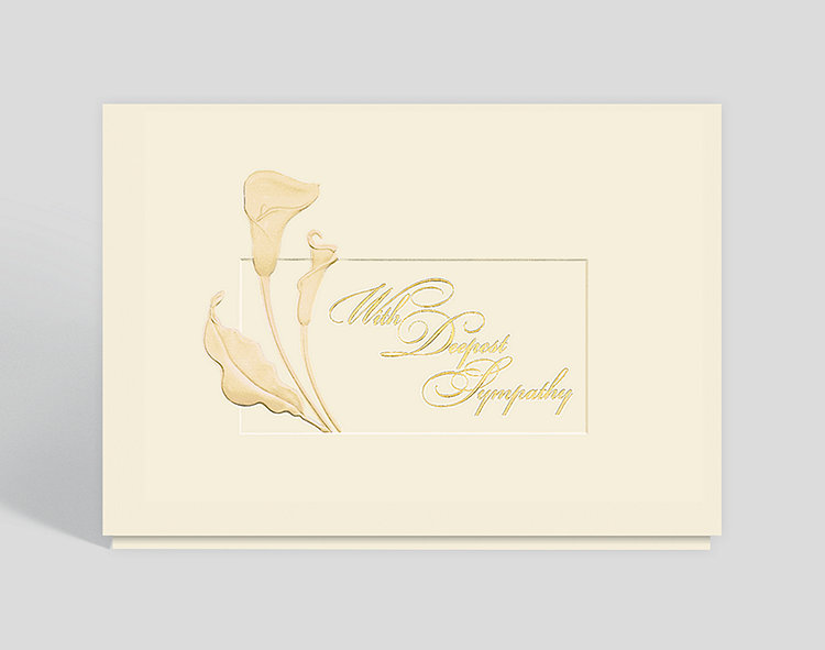 Classic sympathy card 300511 business christmas cards classic sympathy card click to view larger thecheapjerseys Choice Image