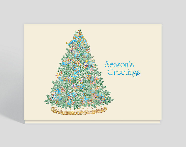 Spirit of Christmas Card - Season's Greetings