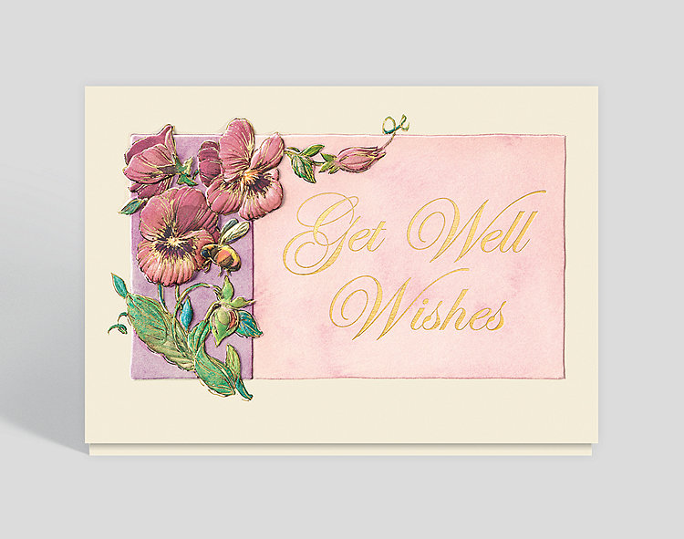 Garden get well greeting card 300613 business christmas cards garden get well greeting card click to view larger m4hsunfo